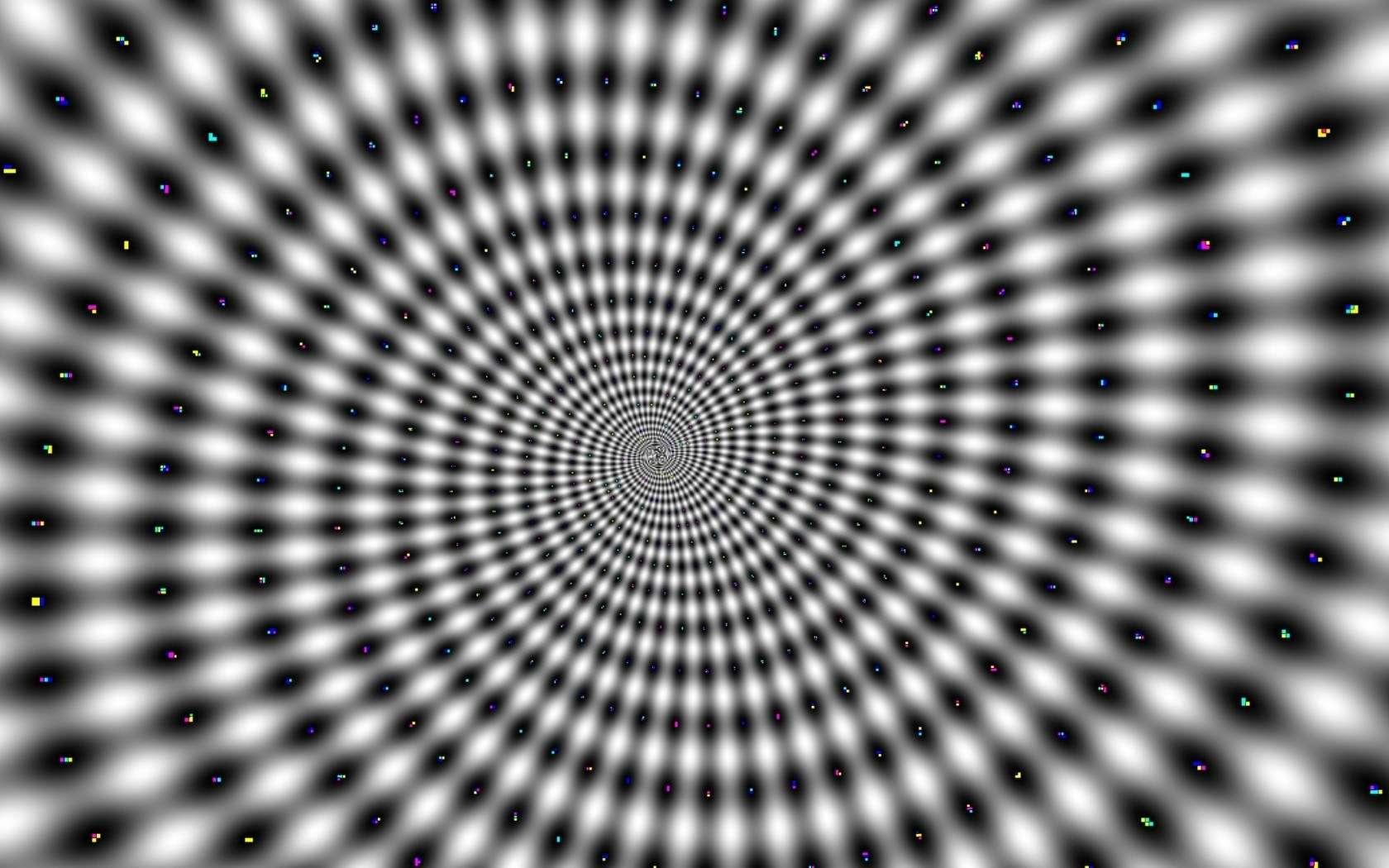 eyes web illusions