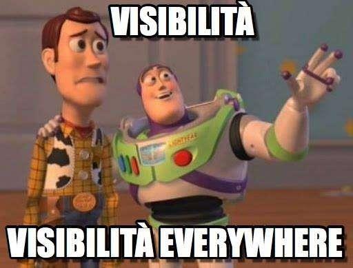 Il falso mito della visibilità